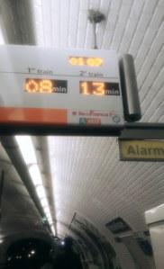 Metros in Paris