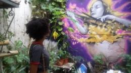 Art observing Art